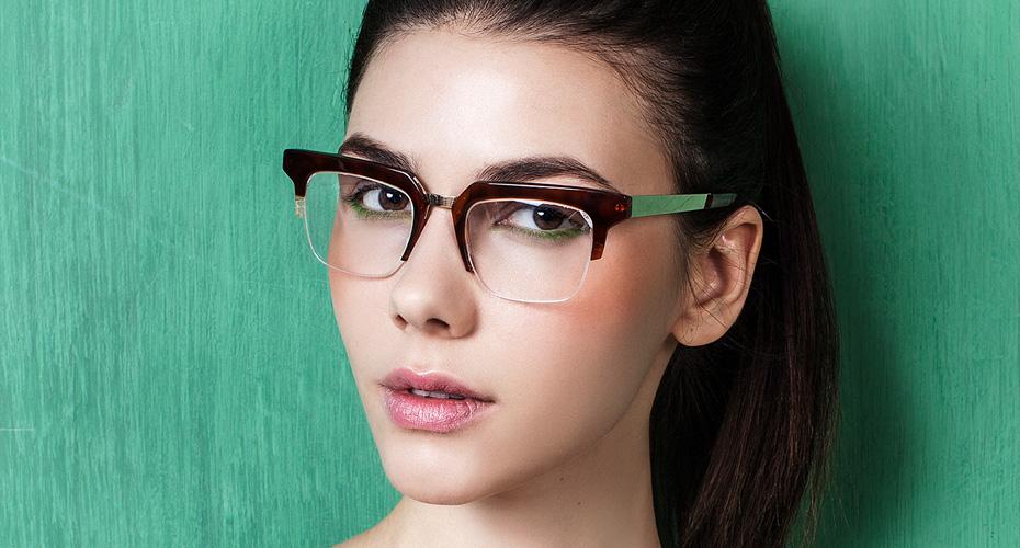 фото макияж под очки потому